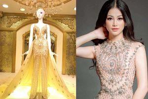 Hé lộ chiếc đầm tỏa sáng của Phương Khánh tại đêm chung kết Hoa hậu Trái đất