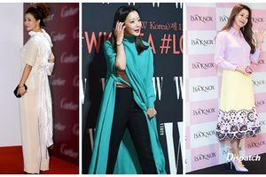 Là biểu tượng nhan sắc nhưng Kim Hee Sun nhiều lần mắc lỗi trang phục xấu 'không đỡ nổi'