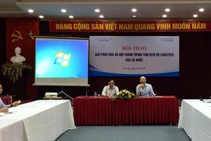 Xây dựng Hà Nội trở thành trung tâm dịch vụ logictics của cả nước