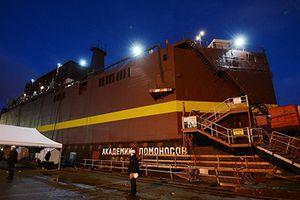 Nga hạ thủy tổ máy nguyên tử nổi đầu tiên trên thế giới