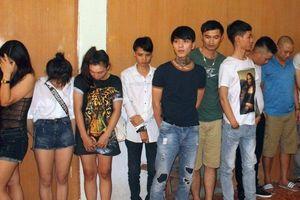 Đồng Nai: Tạm giữ 67 thanh niên 'phê' ma túy tại quán karaoke