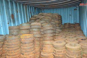 Syria phát hiện hàng trăm mìn chống tăng của khủng bố ở Quneitra