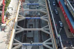 Trung Quốc xây ga tàu điện ngầm dài nhất châu Á