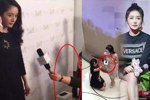 Tần Lam và Dương Mịch đều được phóng viên quỳ dưới đất khi phỏng vấn, nhưng tại sao kẻ bị 'ném đá', người được thấu hiểu?