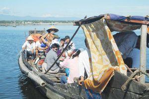 Thừa Thiên Huế: Siết chặt giao thông đường thủy tại bến đò Cồn Tộc - Vĩnh Tu