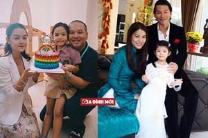 Hậu ly hôn, 3 cặp sao Việt này vẫn sẵn sàng bên nhau thậm chí ngủ chung giường vì con cái