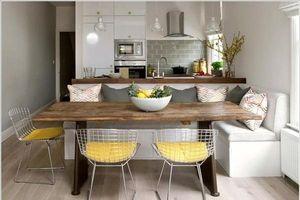 Thiết kế không gian mở tuyệt vời cho căn bếp