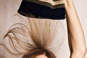 Mẹo hay giúp tóc không bị tích điện vào mùa đông