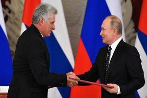 Nga-Cuba tăng cường hợp tác quốc phòng giữa tâm bão căng thẳng với Mỹ