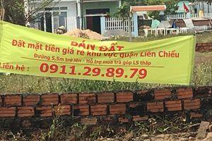 Làm giả văn bản của Chủ tịch Đà Nẵng để gây sốt đất