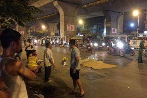Đi bộ sang đường, người đàn ông bị xe bồn cán tử vong
