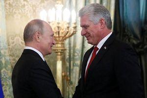 Nga và Cuba khẳng định mối quan hệ đồng minh chiến lược