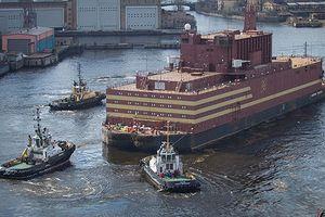 Nga hạ thủy thành công nhà máy điện hạt nhân nổi trong nước đầu tiên
