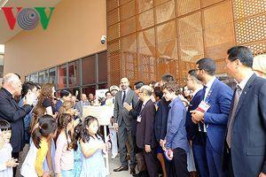 Thủ tướng Pháp dự lễ khánh thành trường Pháp Alexandre Yersin