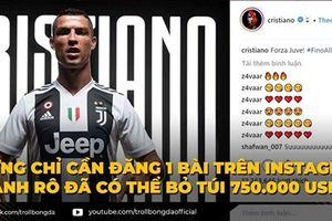 Biếm họa 24h: Cầu thủ chỉ là nghề tay trái của Cristiano Ronaldo?