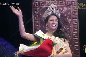 Khoảnh khắc Phương Khánh đăng quang Hoa hậu Trái đất 2018