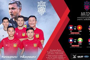 19 đời HLV chưa một lần đưa Lào qua vòng bảng AFF Cup