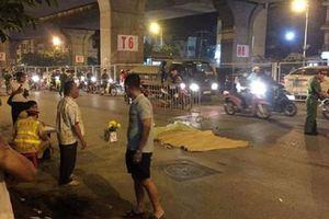 Đi bộ sang đường, người đàn ông bị xe bồn cán chết