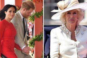 Lần đầu hé lộ cuộc 'đại chiến' giữa bà Camilla với con dâu Meghan trong cung điện hoàng gia