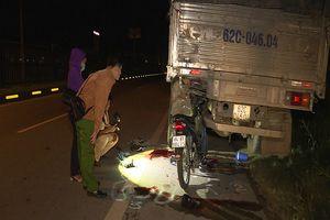 Tông đuôi xe tải, 2 công nhân tử vong tại chỗ