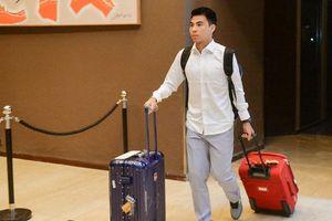 Thầy trò Park Hang-seo ở khách sạn 5 sao của Việt Nam trên đất Lào