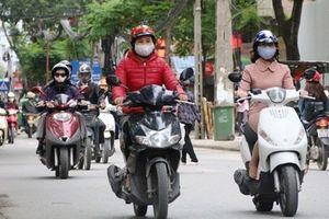 Hà Nội: Gió mùa đông bắc khiến chất lượng không khí nhiều khu vực ở ngưỡng kém