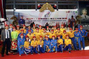 Giải VĐ Vovinam châu Á lần 4: Lần đầu tiên Trung Quốc góp mặt