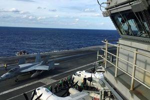 Tàu sân bay Mỹ dẫn đầu nhóm tàu chiến tập trận lớn nhất ở Nhật Bản
