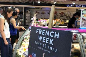 Hàng Pháp giảm giá mạnh tại Big C