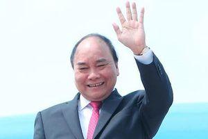 Thủ tướng Nguyễn Xuân Phúc dự Hội chợ Nhập khẩu quốc tế Trung Quốc lần thứ 1