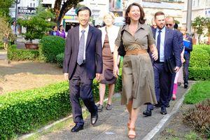Nữ Bộ trưởng Y tế Pháp thăm Viện Pasteur TP HCM