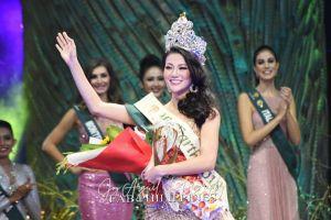 Người đẹp Việt Nam đầu tiên giành vương miện Hoa hậu Trái đất