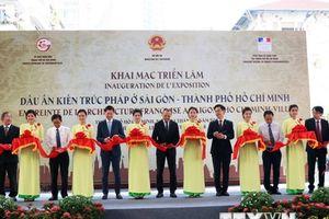 Triển lãm 'Dấu ấn kiến trúc Pháp ở Sài Gòn-Thành phố Hồ Chí Minh'