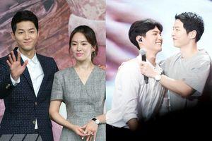 Song Joong Ki chia sẻ ảnh ủng hộ phim 'Boyfriend/Encounter' của Song Hye Kyo và Park Bo Gum