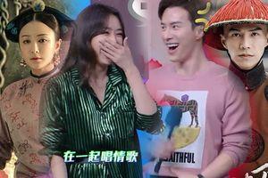 'Phú Sát Hoàng Hậu' Tần Lam và 'Hải Lan Sát' Vương Quang Dật cực tình tứ trên sân khấu 'Happy Camp'