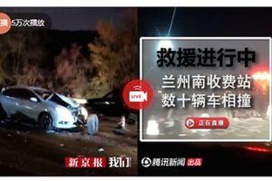 Xe tải mất lái gây tai nạn kinh hoàng tại trạm thu phí, 11 người tử vong