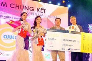 Võ Thị Tiểu Muội đoạt Quán quân Beauty Contest Vietnam-Japan 6