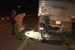 Vĩnh Long: Va chạm với xe tải, 2 thanh niên tử vong tại chỗ