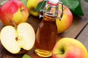 Giật mình trước 7 tác dụng phụ không ngờ của giấm táo