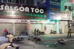 TP HCM: Hai xe máy đối đầu khiến 2 người tử vong, 1 người nguy kịch