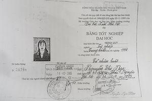 Thẩm phán TAND thành phố Thái Nguyên dùng bằng giả