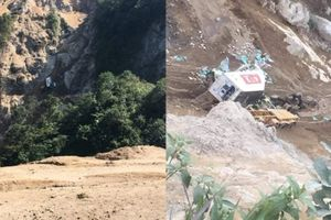 Hé lộ nguyên nhân xe container rơi vực sâu 250m, tài xế chết thảm
