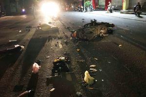 Hai xe máy tông nhau trực diện, 2 người chết, 1 người trọng thương
