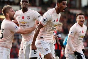Vòng 11 Premier League: M.U nối dài chuỗi trận bất bại