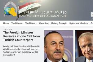 Iraq yêu cầu Mỹ ngừng can dự vào các vấn đề nội bộ