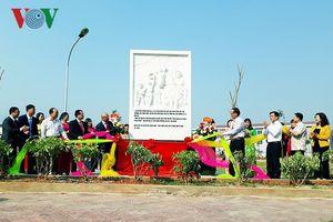 Khánh thành công viên mang tên liệt sỹ Nguyễn Thăng Bình