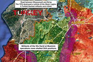 Tổng quan tình hình quân sự ở Idlib trong gần một tháng qua