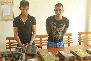 Lái xe container nghiện ma túy trộm hộp đen máy xúc