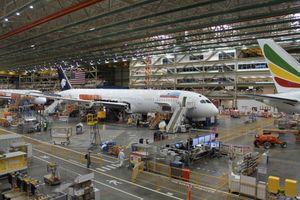 Bên trong nhà máy sản xuất Boeing nổi tiếng nhất nước Mỹ