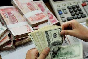 Tỷ giá trung tâm giảm, giá trao đổi USD cũng giảm mạnh phiên đầu tuần